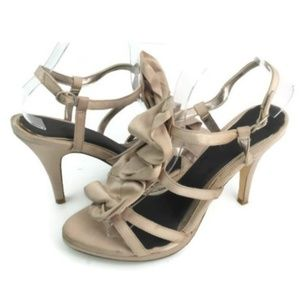 Unlisted Women's Tan Strappy Platform Sandals